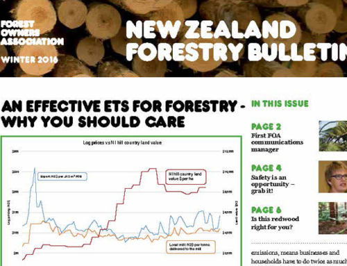 New Zealand Forestry Bulletin, Winter 2016