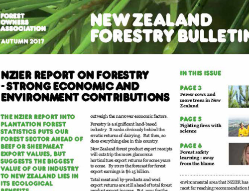 New Zealand Forestry Bulletin, Autumn 2017