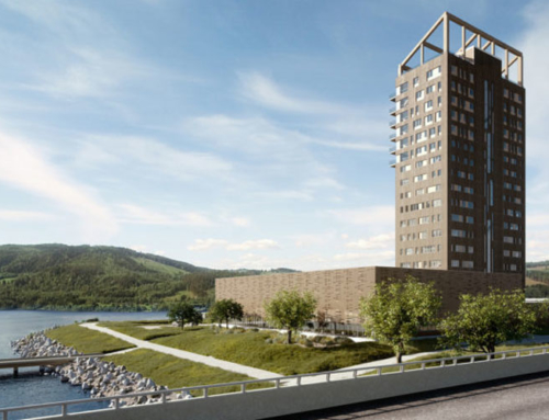 Norway claims bragging rights to world's highest timber building