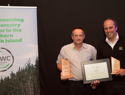 Bert Hughes recognised for contribution to forestry