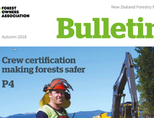 New Zealand Forestry Bulletin, Autumn 2018